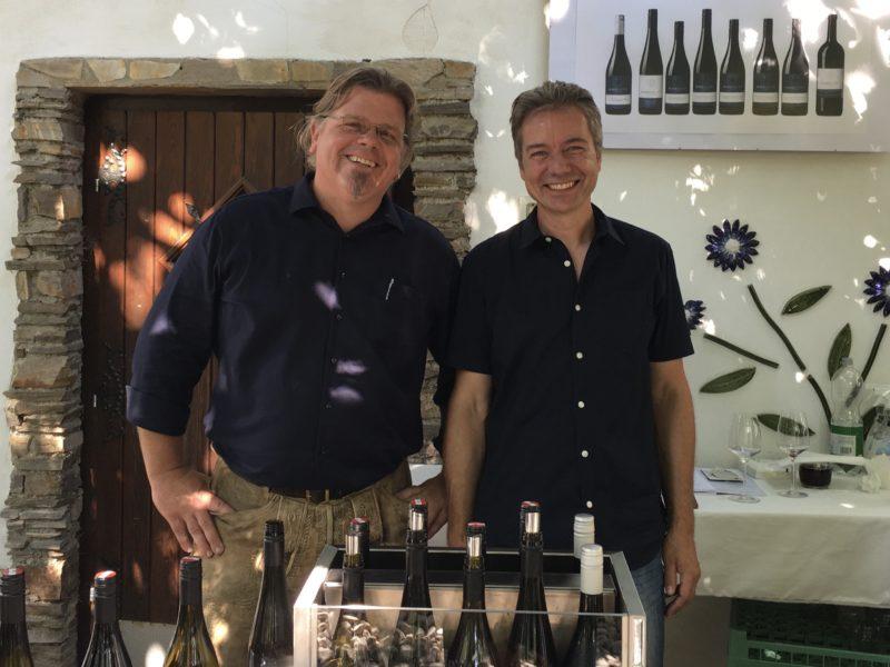 Karl Huber und Hannes Spitzer - Weingut Huber-Spitzer