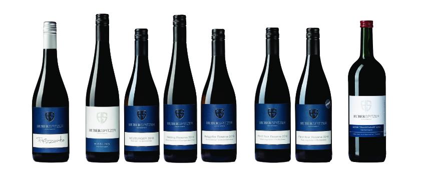Weinsortiment - Weingut Huber-Spitzer
